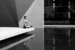 adult architecture black and white body